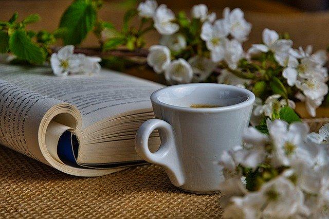 herbata i książka